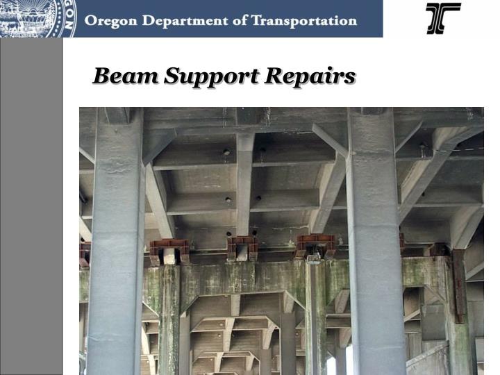 Beam Support Repairs