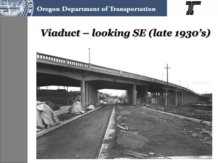 Viaduct – looking SE (late 1930's)