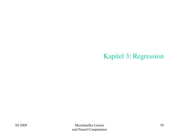 kapitel 3 regression