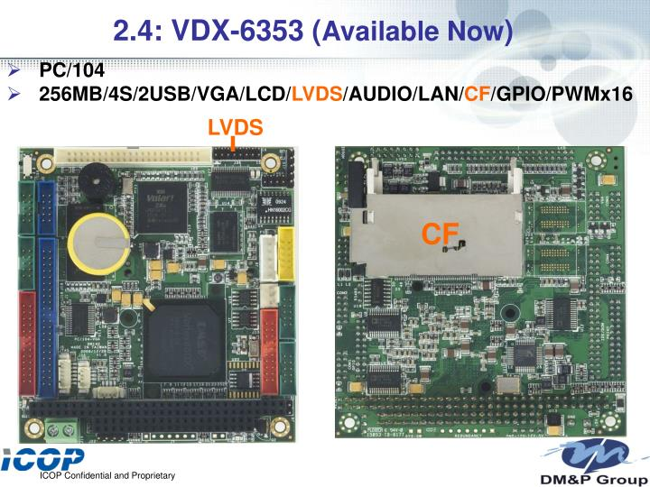 2.4: VDX-6353 (