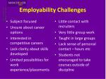 employability challenges