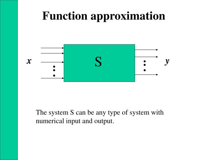 Function approximation