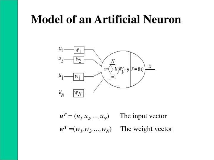 Model of an Artificial Neuron
