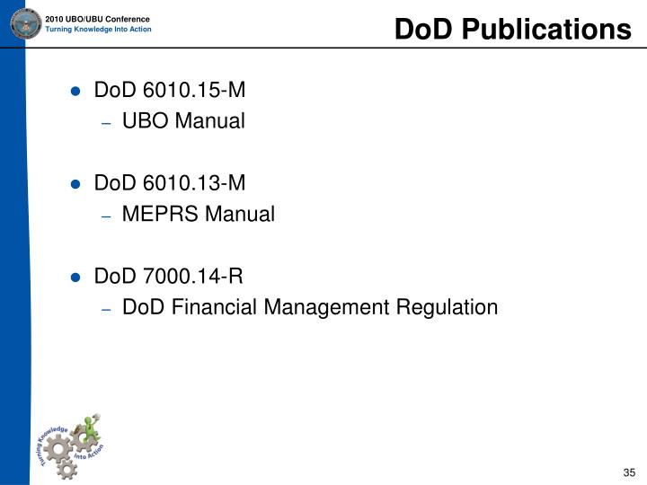 DoD Publications