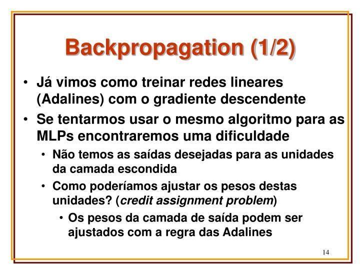 Backpropagation (1/2)
