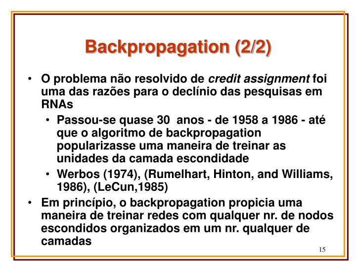 Backpropagation (2/2)