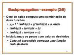 backpropagation exemplo 2 9