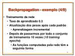 backpropagation exemplo 4 9