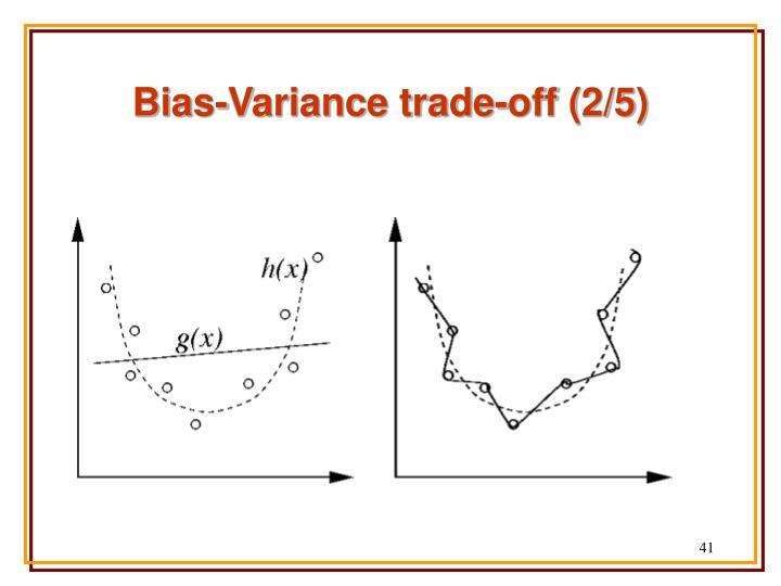 Bias-Variance trade-off (2/5)
