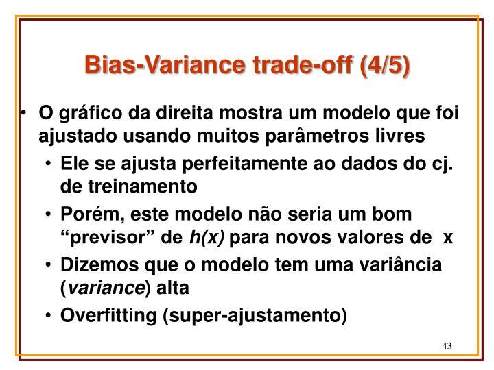 Bias-Variance trade-off (4/5)