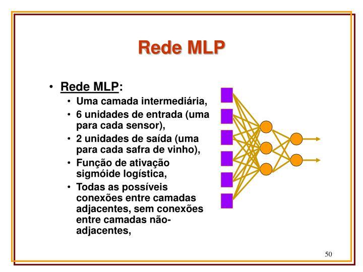 Rede MLP