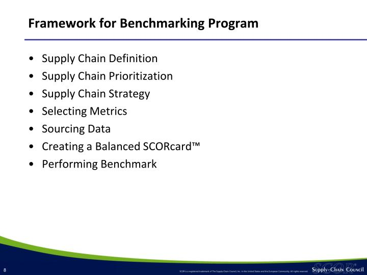 Framework for Benchmarking Program