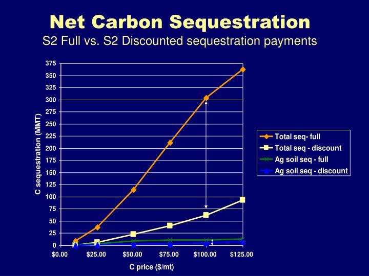 Net Carbon Sequestration