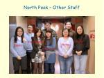 north peak other staff