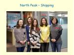 north peak shipping