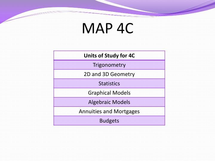 MAP 4C
