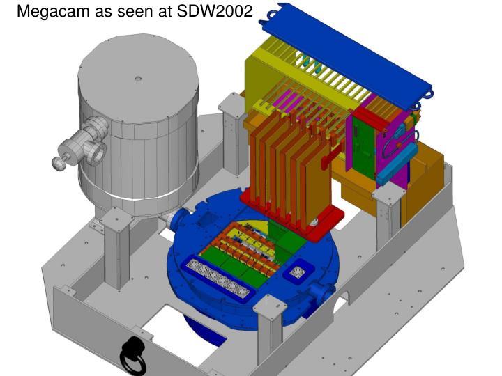 Megacam as seen at SDW2002