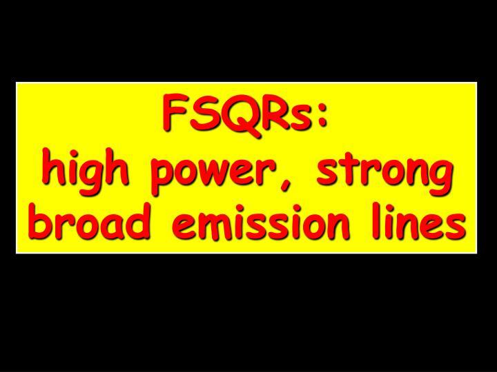 FSQRs