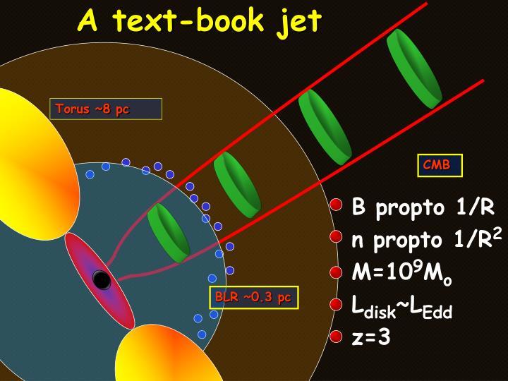 A text-book jet