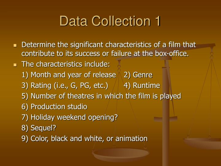 Data Collection 1