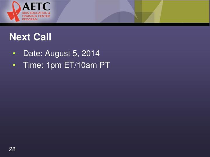 Next Call