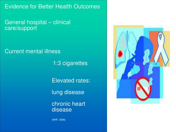 Evidence for Better Health Outcomes