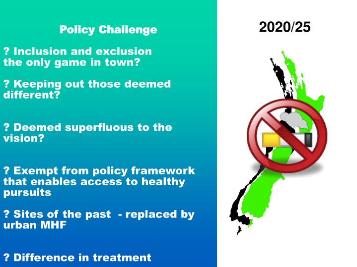 Policy Challenge