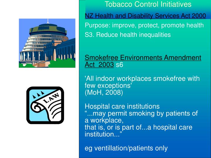 Tobacco Control Initiatives