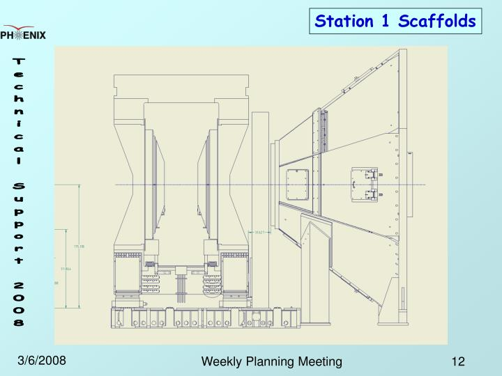 Station 1 Scaffolds