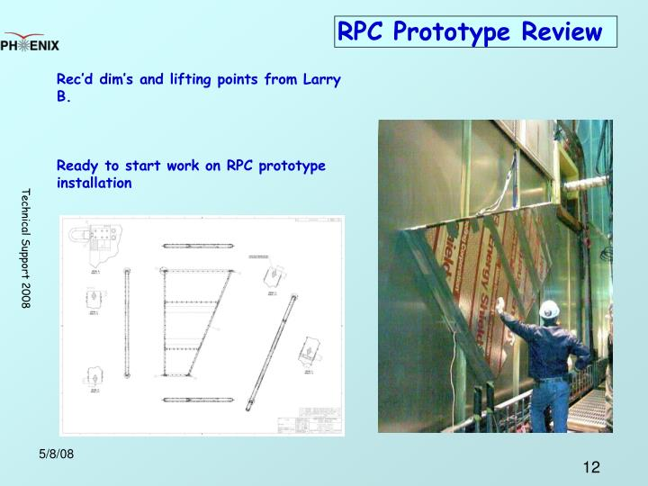 RPC Prototype Review