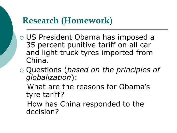 Research (Homework)