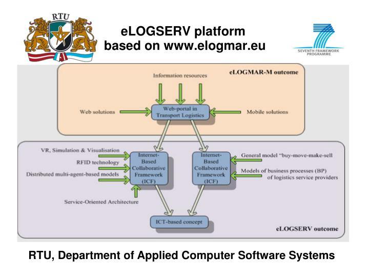 eLOGSERV platform