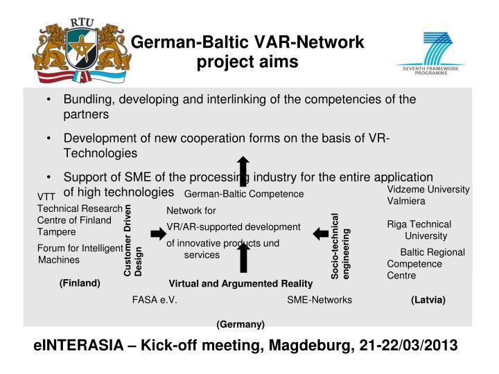 German-Baltic VAR-Network