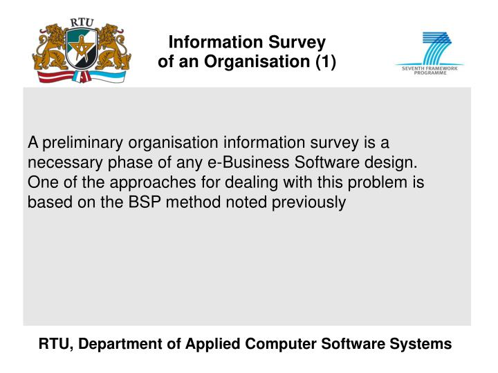 Information Survey