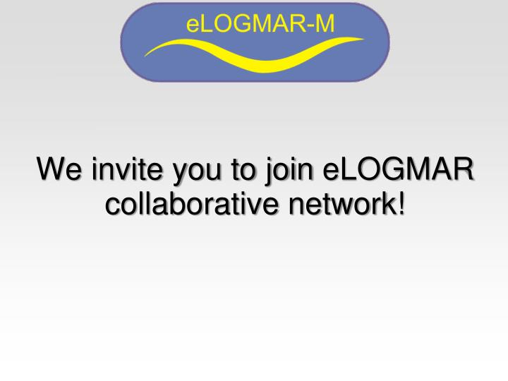 We invite you to join