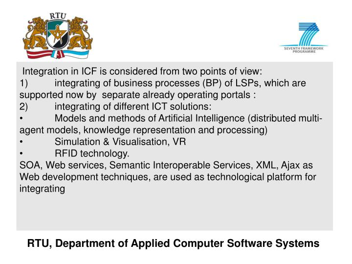 RTU, Department of Applied Computer Software Systems