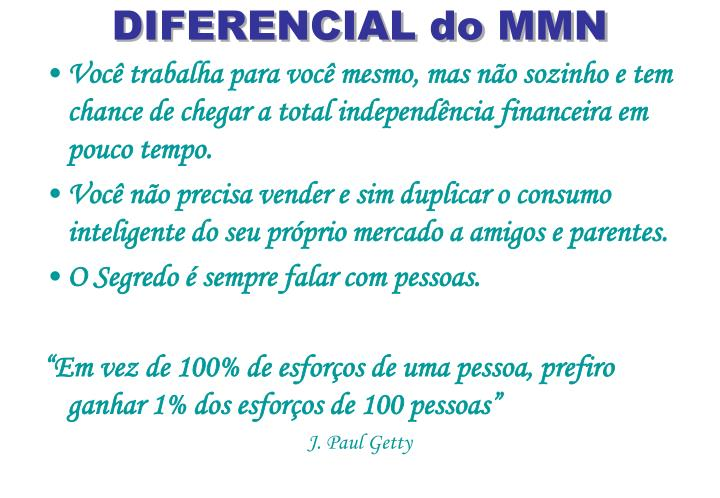 DIFERENCIAL do MMN