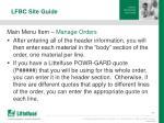 lfbc site guide17