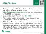 lfbc site guide7