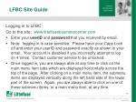 lfbc site guide8