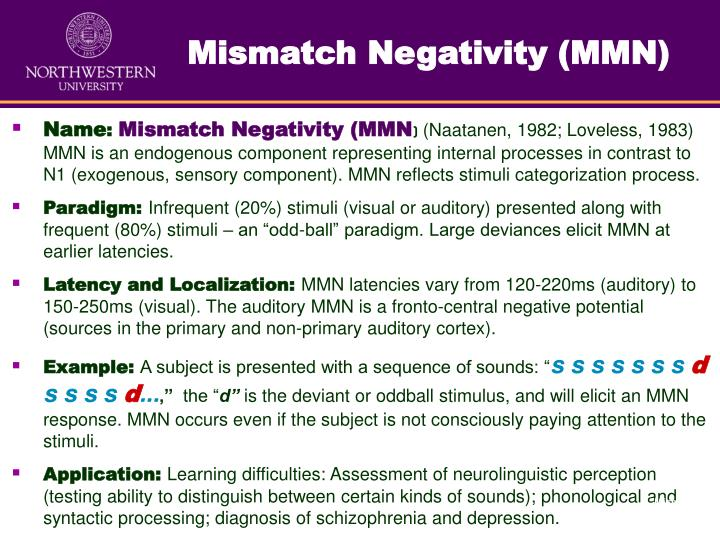 Mismatch Negativity (MMN)