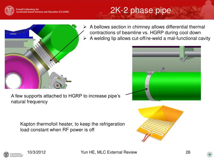 2K-2 phase pipe