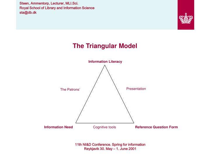 The Triangular Model