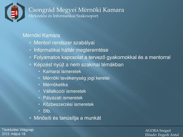 Mérnöki Kamara