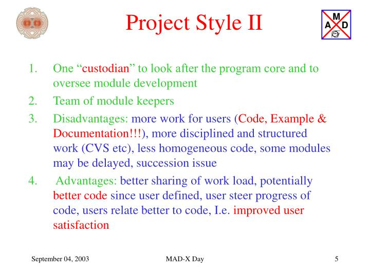 Project Style II