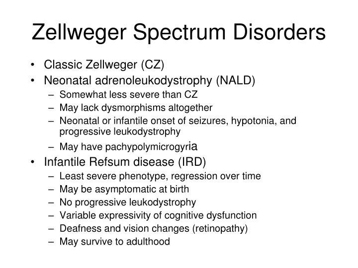 Zellweger Spectrum Disorders