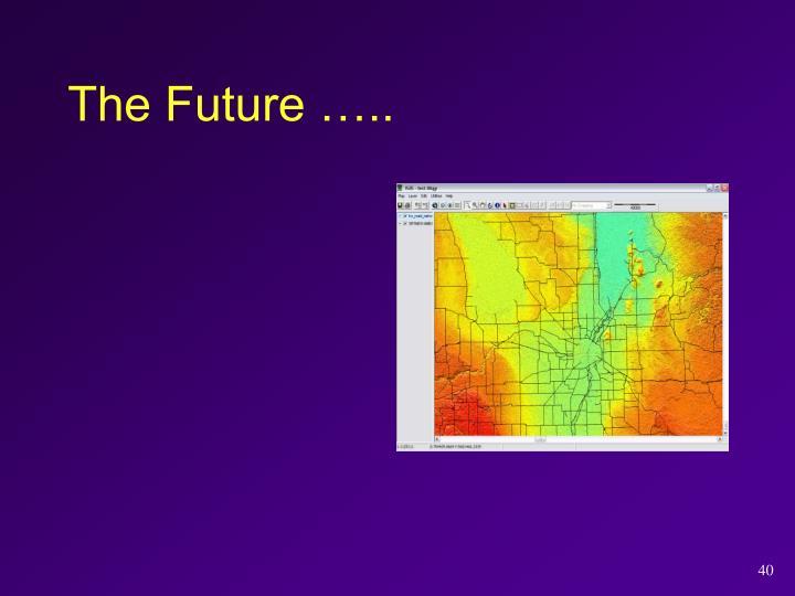 The Future …..