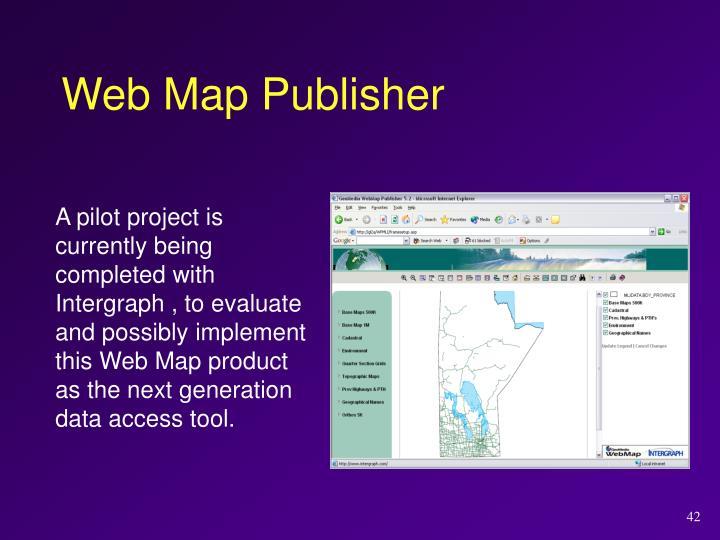 Web Map Publisher