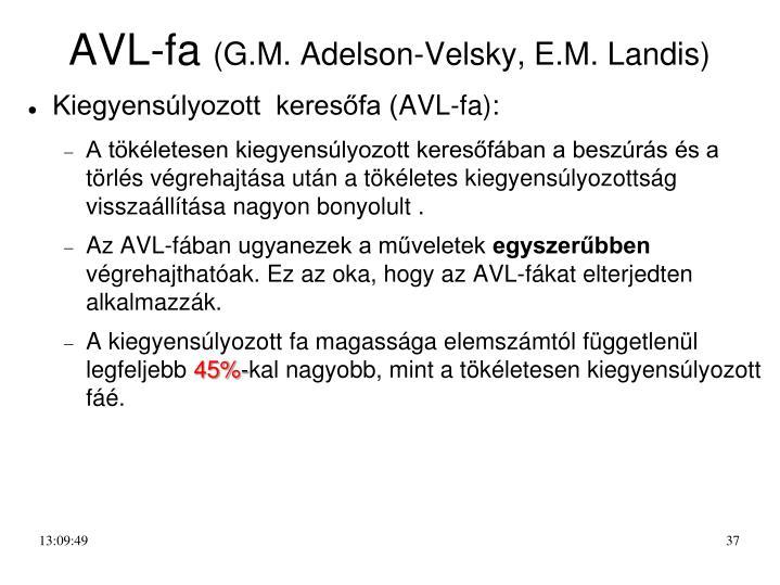 AVL-fa