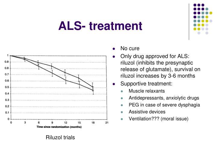 ALS- treatment
